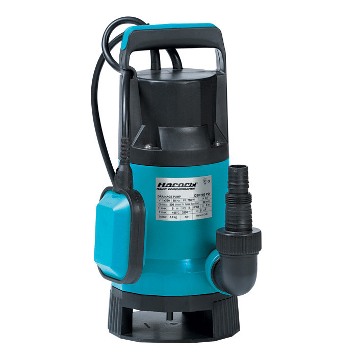 Дренажный насос Насосы+Оборудование DSP 750PD