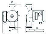 Циркуляционный насос Насосы+Оборудование BPS 25-4S-180, фото 4