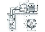 Центробежный поверхностный насос Насосы+Оборудование DP750A, фото 4