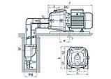 Центробежный поверхностный насос Насосы+Оборудование DDPm 505A + эжектор, фото 4