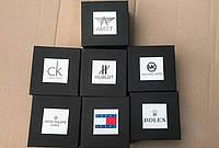 Подарочная коробочка с логотипом под бренды для наручных часов и браслетов