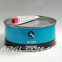 Q-Refinish 20-020 Поліефірна шпатлівка ALUMINIUM посилена частинками алюмінію (1 кг), фото 1