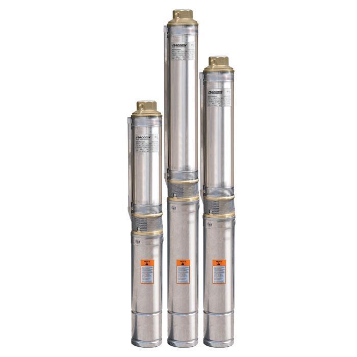 Скважинный насос Насосы+Оборудование БЦП 1,8-90У*, стальной трос подвеса