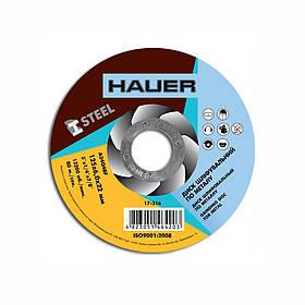 Диск шлифовальный Hauer по металлу 125 х 6.0 х 22 мм (17-316)