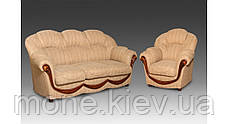 """Комплект мягкой мебели для гостиной """"Мальта"""", диван и два кресла (В НАЛИЧИИ), в Киеве, фото 3"""