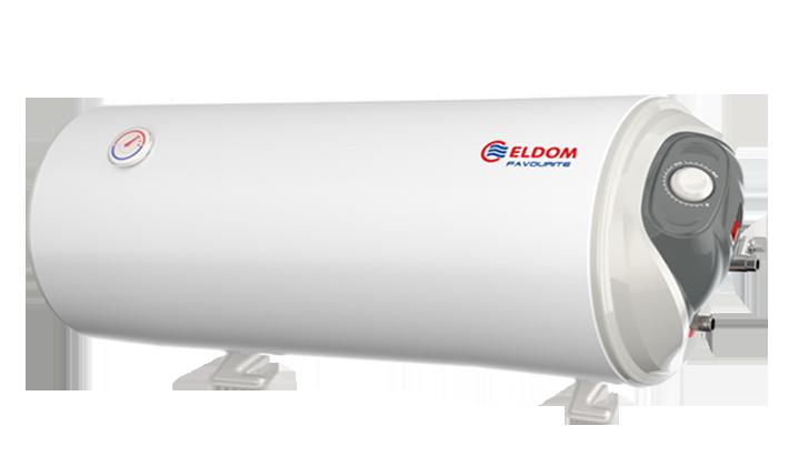 Водонагреватель Eldom Favourite H Slim 80 литров горизонтальный (бойлер) настенный узкий мокрый тэн