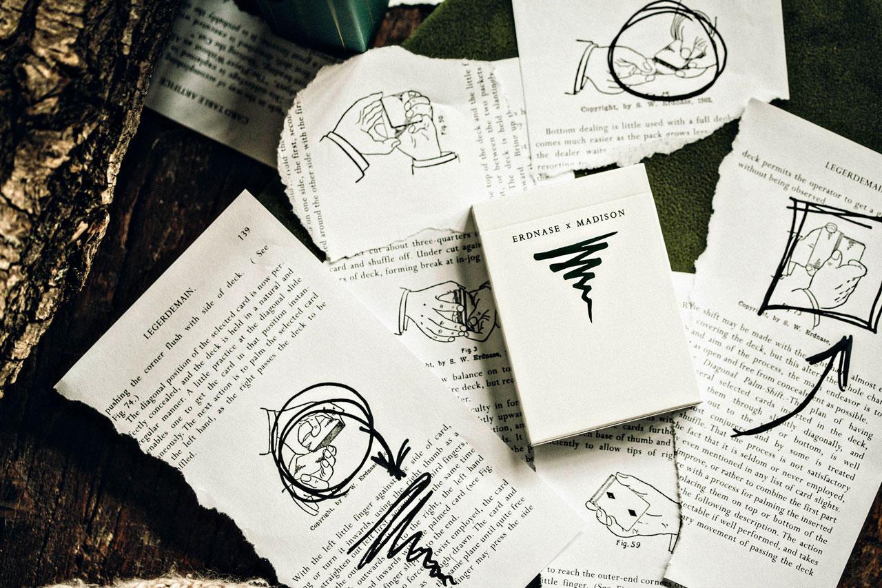 Карты игральные   Erdnase X Madison by Ellusionist