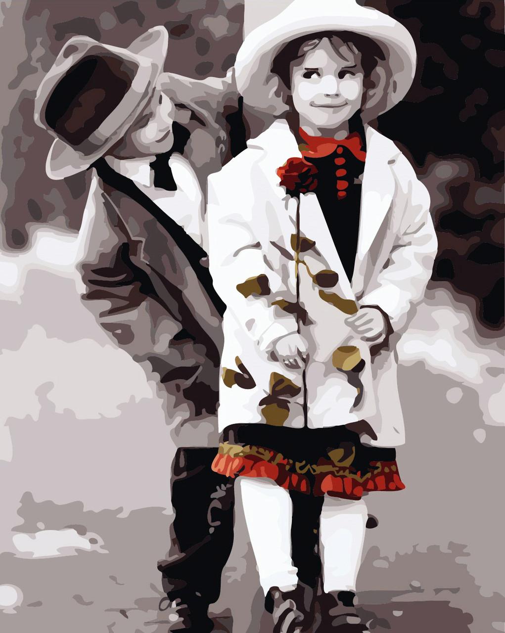 Художественный творческий набор, картина по номерам Первая любовь, 40x50 см, «Art Story» (AS0293)