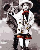 Художественный творческий набор, картина по номерам Первая любовь, 40x50 см, «Art Story» (AS0293), фото 1