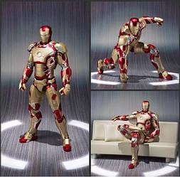 Фігурка Залізна Людина - Iron Man, Mark 42 Marvel