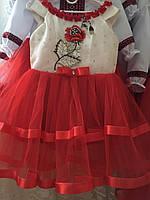 Сукня сарафан для дівчинки розміри в наявності від 3 до 8 років