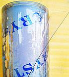 Пленка ПВХ СИЛИКОН 300 мкм плотность\ 137см*30м. Прозрачная. Гибкое стекло. Сrystal, фото 4
