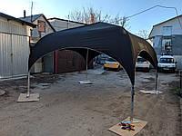 Палатка черная 4х4м БРУТАЛЬНАЯ в Аренду по Украине. в наличии - Заказывайте