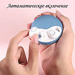 Бездротові Bluetooth-навушники безпровідні із зарядним чохлом-кейсом Wi-pods К10 Bluetooth 5.0 Сині., фото 5
