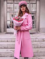 bfdbe3227dd Элегантное женское пальто демисезон до больших размеров 743