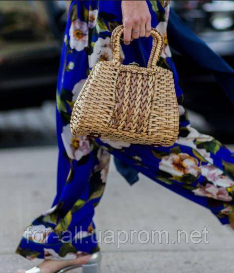 Фото Женская соломенная сумка 2019