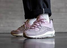 Кроссовки Nike Air Max 98 Triple Pink 640744-200  (Оригинал)