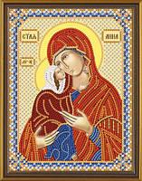 Набор для вышивки бисером  Св. Анна с Младенцем Марией С 6143