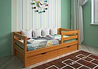 Кровать детская подростковая Нота, массив ясень, фото 1