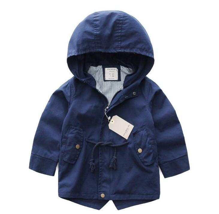 Весенняя куртка с котоновой подкладкой : 130см,140см,150см