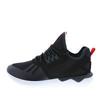 Кроссовки мужские adidas Originals Tubular Weave S82651 (черные, повседневные, текстильный верх, бренд адидас)
