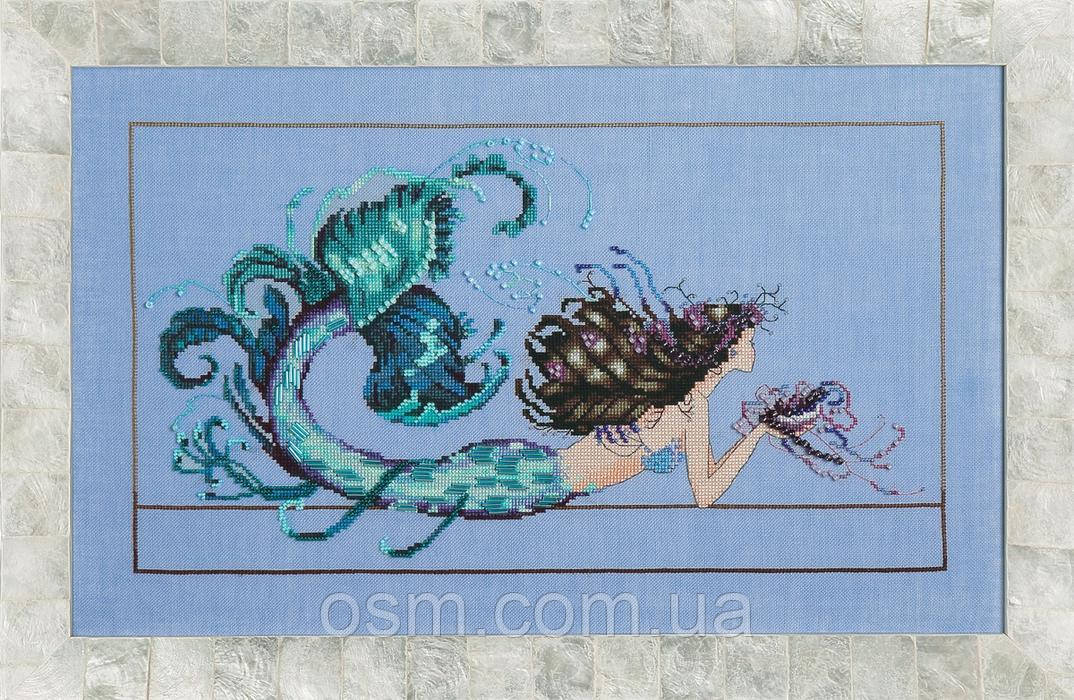 Схема для вышивки Mermaid Undine Mirabilia Designs