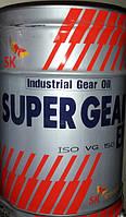 Индустриальное масло Zic SK Super Gear EP 150 20 л.
