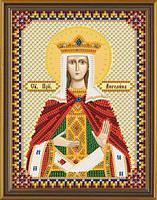 Набор для вышивки бисером  Св. Прп. Ангелина Сербская С 6144