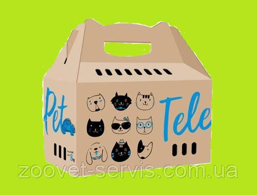 Коробка-переноска ТелеПет 455х220х435мм 9070