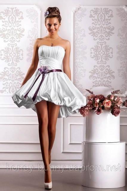 """Прокат 500 грн. Свадебное платье  """"Лиловая сказка"""" в стиле """"бейби-дол"""""""