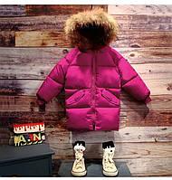 Модная зимняя парка с капюшоном унисекс  , распродажа склада: 100см,110см,120см,130см,140см