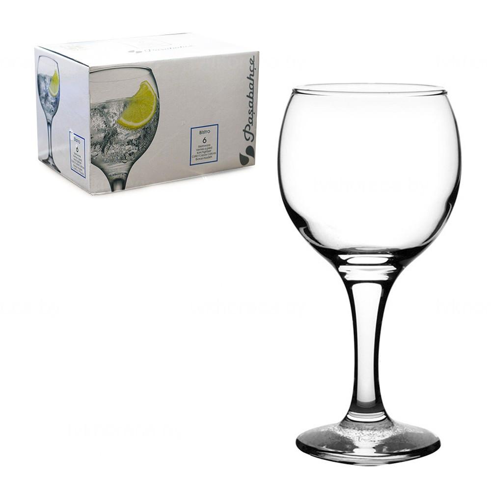 Набор бокалов для вина Pasabahce Bistro 290 мл 6 шт 44411