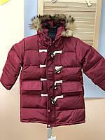 Зимняя парка, утеплитель синтепон+пух  , Final Sale -40%, размеры: 110см,120см,130см