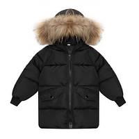 Модная зимняя парка с капюшоном унисекс  , Mega Sale -25% off, размеры : 100см,130см