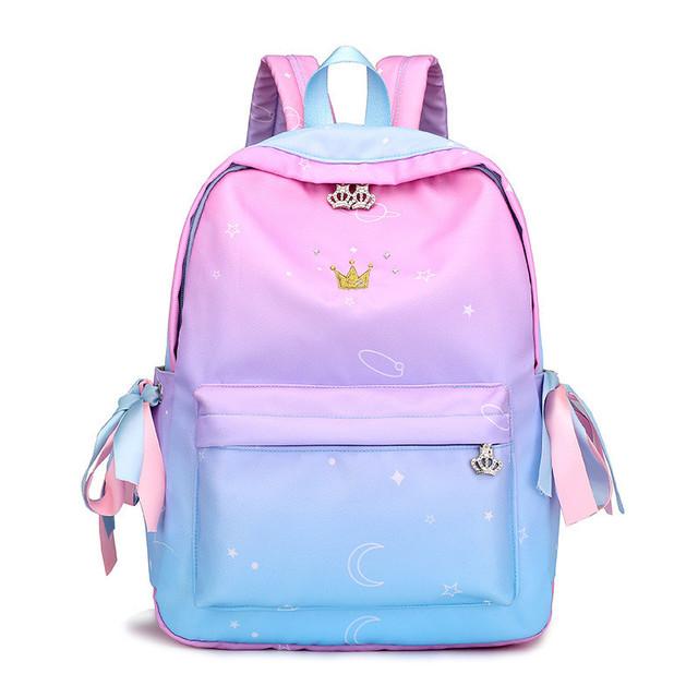 Рюкзак молодежный градиент