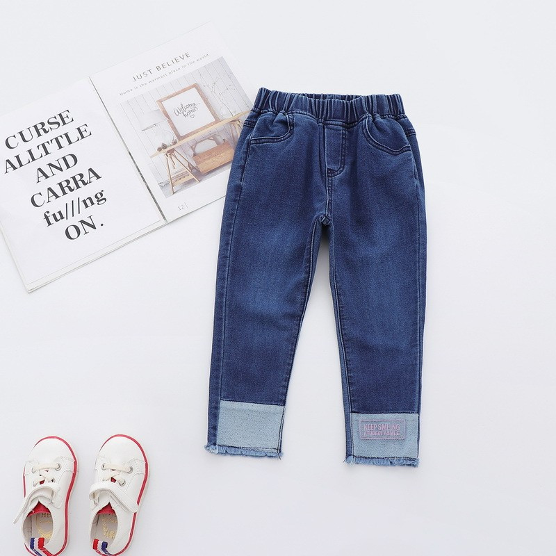 Детские стильные джинсы Keep Smiling : 120см,130см,140см