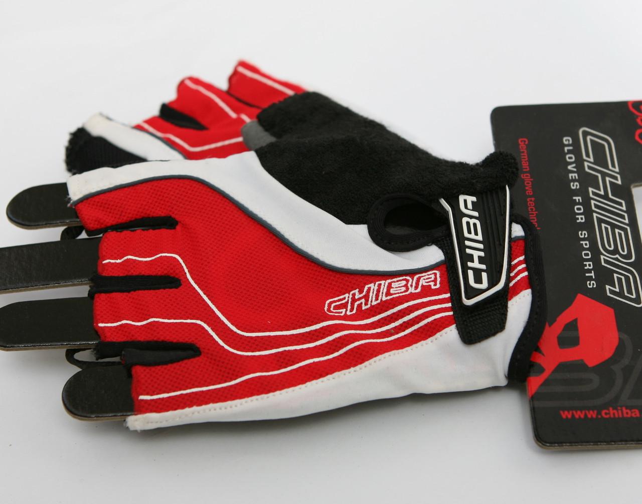 Велосипедные перчатки Chiba Elite Rot