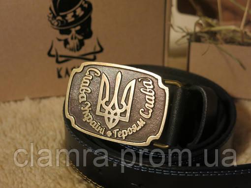 Шкіряний ремінь «Слава Україні!»  продажа c6d302e4342e6
