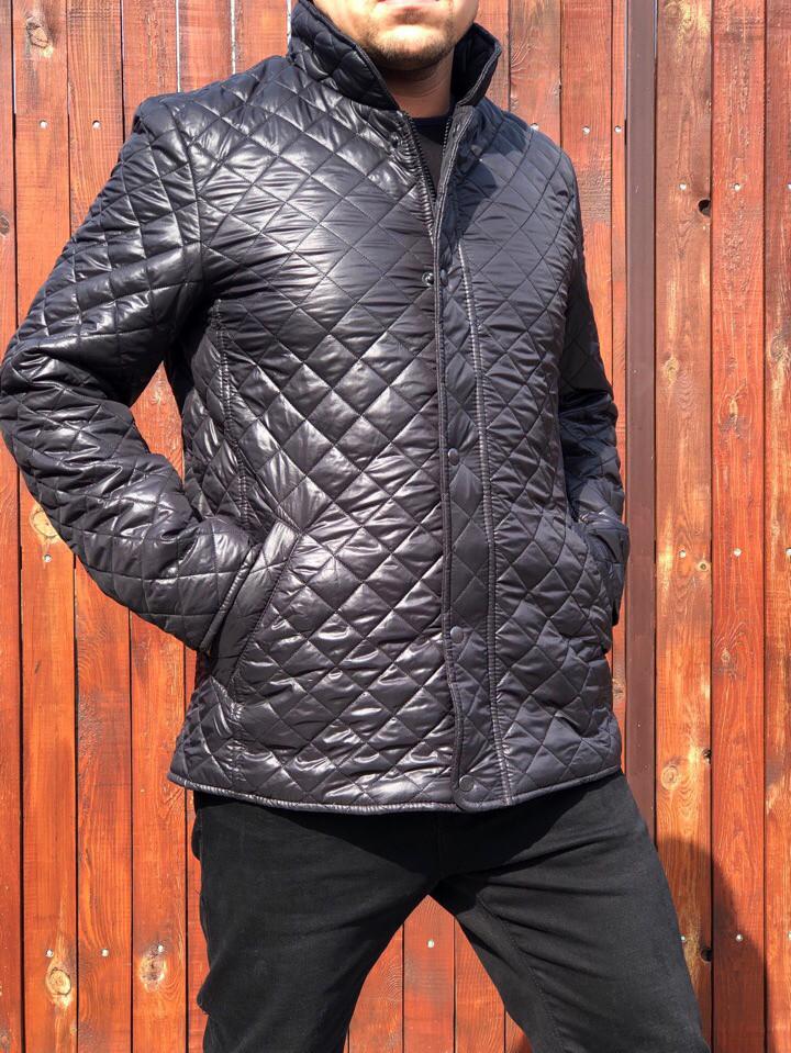 efa4f1a38f5 Мужская стёганая куртка демисезон 725