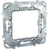 Суппорт металл без дополнительного крепления для 2-х модулей Schneider Electric Unic