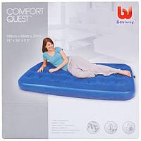 Надувной матрас Bestway 67001 Comfort Quest 188х99х22см, фото 1