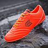Футзалки, бампы, сороконожки кроссовки для футбола мужские оранжевые (код 7763)