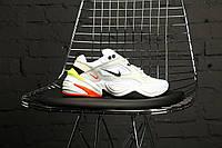Кроссовки Унисекс в стиле Nike M2K Tekno Pure Platinum Black-Sail White (Топ качество)