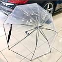 Оригинальный прозрачный зонт-трость Mercedes-Benz Umbrella, Transparent (B66954529), фото 3
