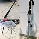 Оригинальный прозрачный зонт-трость Mercedes-Benz Umbrella, Transparent (B66954529), фото 4