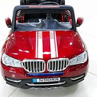 Электромобиль детский BMW X5 красный