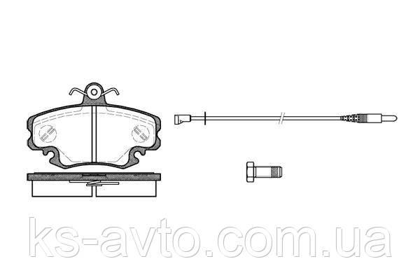 Гальмівні колодки HI-Q SP 1243