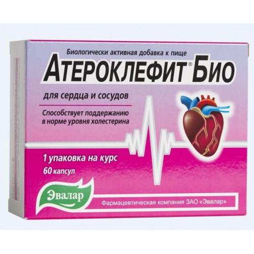 Атероклефит  Био, Эвалар, 60 капс.