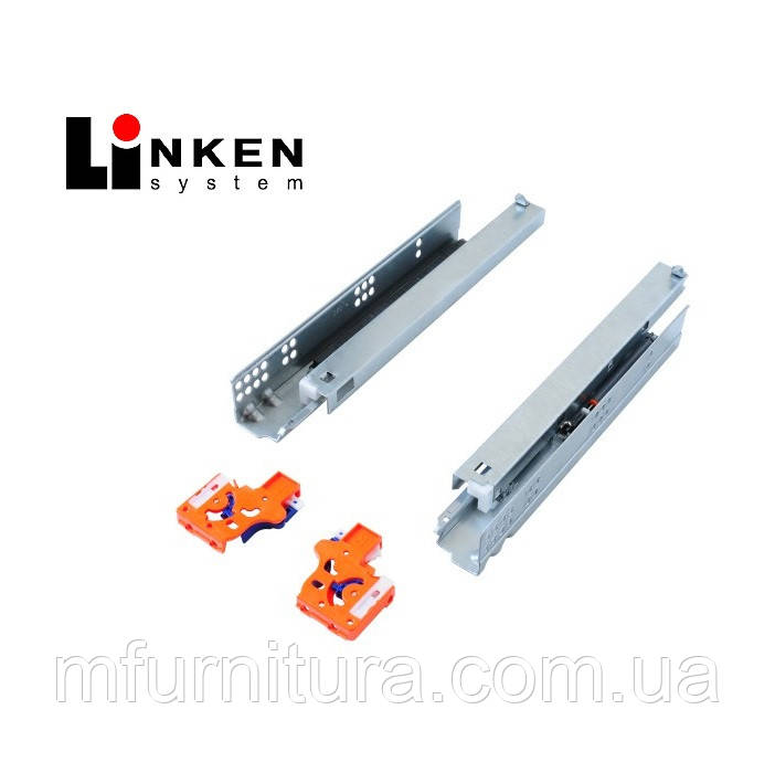 Напр. скрытого монтажа 350 мм, полн. выдв. (комплект) - LinkenSystem