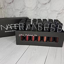 Набор матовых помад для губ NARS Solid Color Long Lasting Lip Gloss 21 шт.